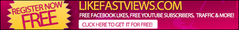 Likefastviews.com | GET FREE FACEBOOK LIKES, YOUTUBE SUBSCRIBERS, TWITTER...