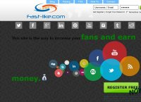 fast-like.com - Get Facebook Likes, Social exchange, Youtube Views and make money